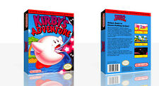 Kirby's Adventure NES Replacement Spare Game Case Box + Cover Art Work (No Game)