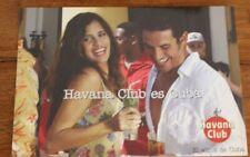 3072 CARTOLINA PUBBLICITARIA HAVANA CLUB