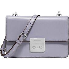 Michael Kors Tasche/Bag Sloan SM Gusset Xbody Leder Lilac NEU!Neues Modell