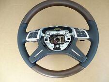 Mercedes b c e w204 w212 klasse wood steering wheel w246 w218 CLS Lenkrad matt