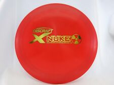 Discraft X Nuke Red w/ Gold stamp 171g -New