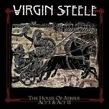 Virgin Steele/The House of Atreus Act I & Act II * New 3 CD Box Set - * NUOVO *