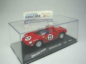 Le Mans Altaya FERRARI 250 P 250P Scarfiotti Bandini 1963 IXO 1/43 cochesaescala
