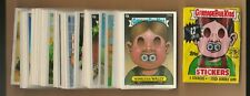 1988 Topps Garbage Pail Kids Series 12 Complete Diecut Set 88 W /Var. RARE MINT!