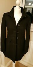 George Black Lined Size 8 Wool Blend  Fitted Jacket