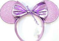 2020 NEW Disney Parks Minnie Ears Headband Lilac Purple Lavender