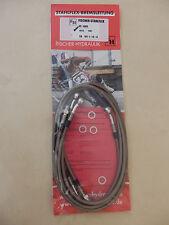 VS 1400 VX51L Intruder STAHLFLEX vorne & hinten & Kupplung ABE VS1400 brake hose