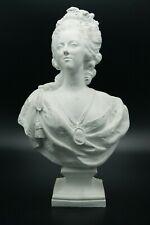18th F.LECOMTE MARIE ANTOINETTE QUEEN OF FRANCE SEVRES PARIAN BISQUE PORCELAIN