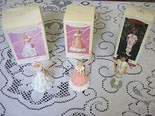 Lot Of 3 Hallmark Keepsakes Barbie Collector Springtime Native Am Series Holiday