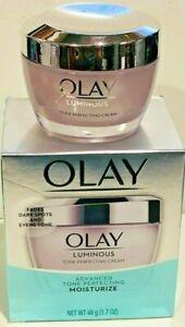 Olay Luminous Tone Perfecting Cream and Sun Spot Remover, Advanced Tone Perfect