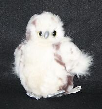 K&M Owl Plush Stuffed Animal Toy Silver beak and feet
