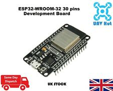 ESP32 WROOM-32 30 pins Development Board Dual Core 2.4 GHz WLAN WiFi Bluetooth
