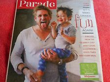 PARADE MAGAZINE MARCH 2015 CURTIS STONE MAKE DINNER FUN RECIPES FROM CHEFS