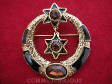 "Broche ""Cercle Etoiles"" N° 2 Circle Stars - Bijoux Vintage Butler & Wilson"