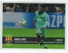 2019 Topps NOW UCL Champions's League ANSU FATI Barcelona Rookie RC SP #/335
