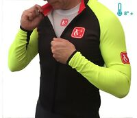 Mens Winter Calpe Windproof Fleece Jacket For Low Temperature Cycling