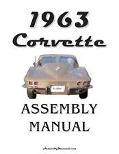 1963 Corvette Assembly Manual 63