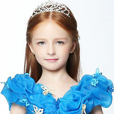 Tiara Hair Crystal Rhinestone Band Kid Girl Bridal Princess Prom Crown Headband