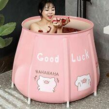 Portable Bathtub Folding Baths Bucket Foldable Large Adult Baby Family Spa Tubs
