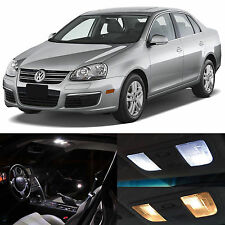 White Interior LED Lights Package Kit for 2005-2010 Volkswagen Jetta MK5 VW