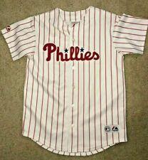 Majestic Philadelphia Phillies Chase Utley Women's Jersey Size L