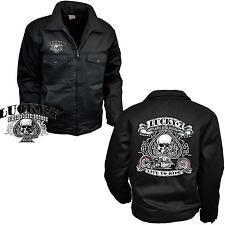 Biker Jacke Workerjacket  Harley Chopper Bobber Motorrad customBike *4240