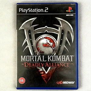 Mortal Kombat: Deadly Alliance PS2 PlayStation 2 With Manual & Clean CD  PAL