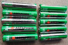 10 x SOLAR GARDEN LIGHT AAA 600mAh PRE-CHARGED NiMH BATTERIES - REPLACES NiCd