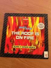 "12"" MIX WESTBAM THE ROOF IS ON FIRE CAT. 877 529-1 VG+/EX GERMANY PS 1990 BXX"