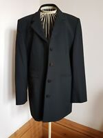 Black Jacket from St. Michael at Marks & Spencer Size 16 Petite 100% Wool Lined