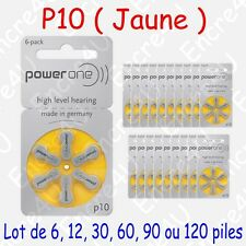 Lot de 6 piles auditives : BLEU P675 ( = 1 blister )