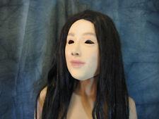 Gummimaske LILLY - Weibliche Frauenmaske Latex Crossdress Transgender Swinger