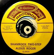 Aldus Roger 45 Cajun Fiddle Instro Mover Shamrock Two Step What Will I To Do M-