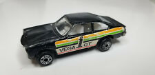Vintage HTF Zee Zylmex Chevy Vega GT D46 Hong Kong Die-Cast Collector Black Car