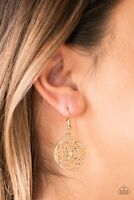 Paparazzi Rochester Royale Gold Earrings