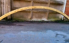 Arco legno lamellare 120x120 impregnato per strutture da esterno carport