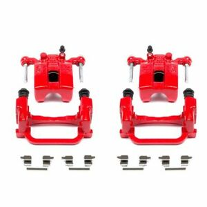 PowerStop for 05-08 Infiniti G35 Rear Red Calipers w/Brackets - Pair