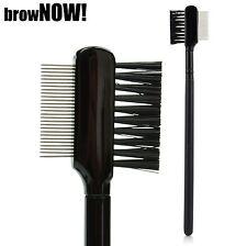 Brownow! - Cejas Shaping Precision Cejas definición Peine-Metal Dientes Y Cepillo