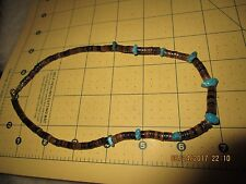 Necklace no Bench Beads Estate Turquoise Navajo Nugget