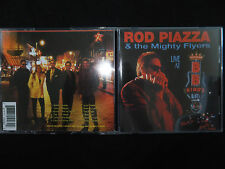 RARE CD ROD PIAZZA & THE MIGHTY FLYERS / LIVE AT B.B KING'S MEMPHIS /
