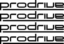RACING ADESIVI Prodrive x 4 Finestra Auto Paraurti Jdm SUBARU Vinile Decalcomanie Sponsor