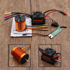Speed + Combo Car 1/10 Motor RC for 4370KV 60A Brushless ESC RC763 Controller 9T