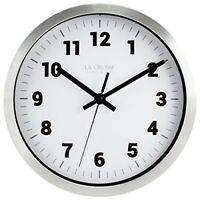"10"" METAL WALL CLOCK"