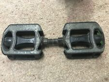 "BICYCLE PEDALS 9/16"" FP-820 PLATFORM NON SLIP COMMUTER BMX ROAD MTB"