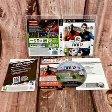 Ps3 video Game FIFA 12 Sony PlayStation 3 EA Sports football soccer pal in case
