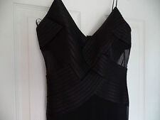 STUNNING CACHE  BLACK COCTAIL  DRESS SZ 4/SALE/SALE