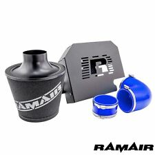 Ramair Ford Focus ST225 MK2 Group A Cone Blue Air Filter Kit and ECU Bracket Box