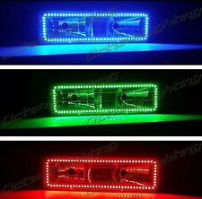 1pc Upper 88-98 Chevy GMC Truck Multi-Color Changing LED RGB Headlight Halo Ring