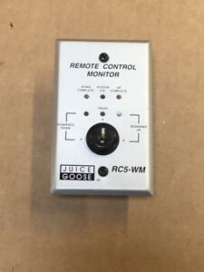 Juice Goose RC5-WM Wall Mount CQ Series Remote Control **Without Key!!