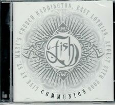 FISH ( Marillion ) Live  + acoustic at St Mary's Church COMMUNION 2-CD sealed